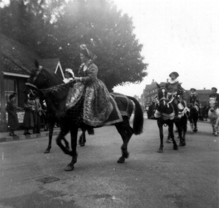 Elizabethan Cavalcade in Banstead (coronation)