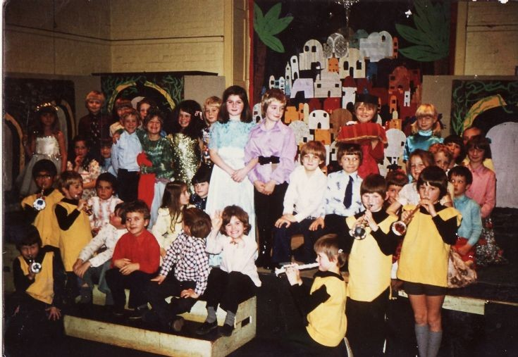 Banstead First School Christmas play  - 1976