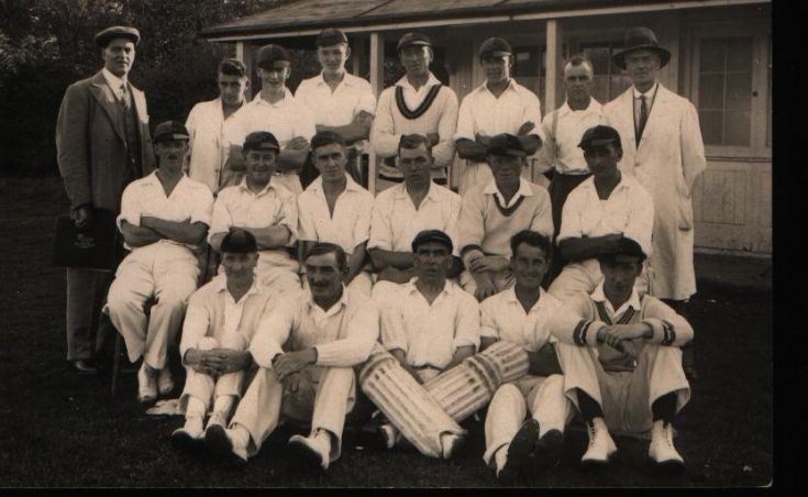 Woodmansterne Cricket Club team photo