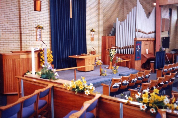 Methodist Church, Great Tattenhams - Interior (2)