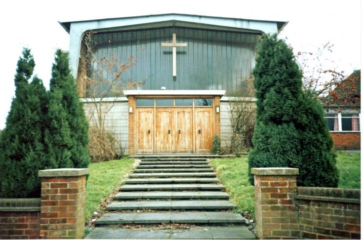 Methodist Church, Great Tattenhams - Main Entrance