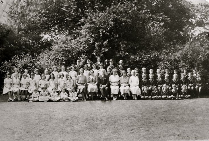 Priory School, Banstead, staff and pupils