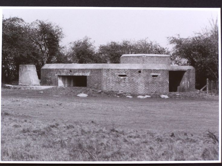 Anti-tank gun pillboxes at Banstead