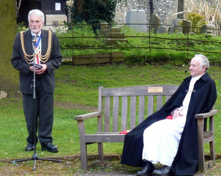 The Mayor and the Reverend Banstead All Saints