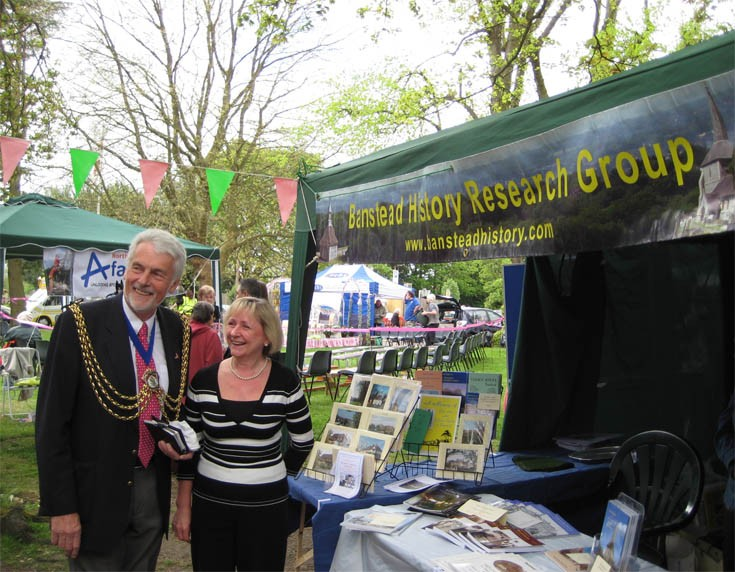 BHRG at the Banstead May Fayre