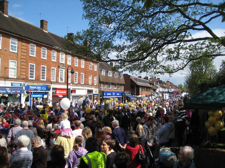 Banstead Silver Jubilee May Fayre