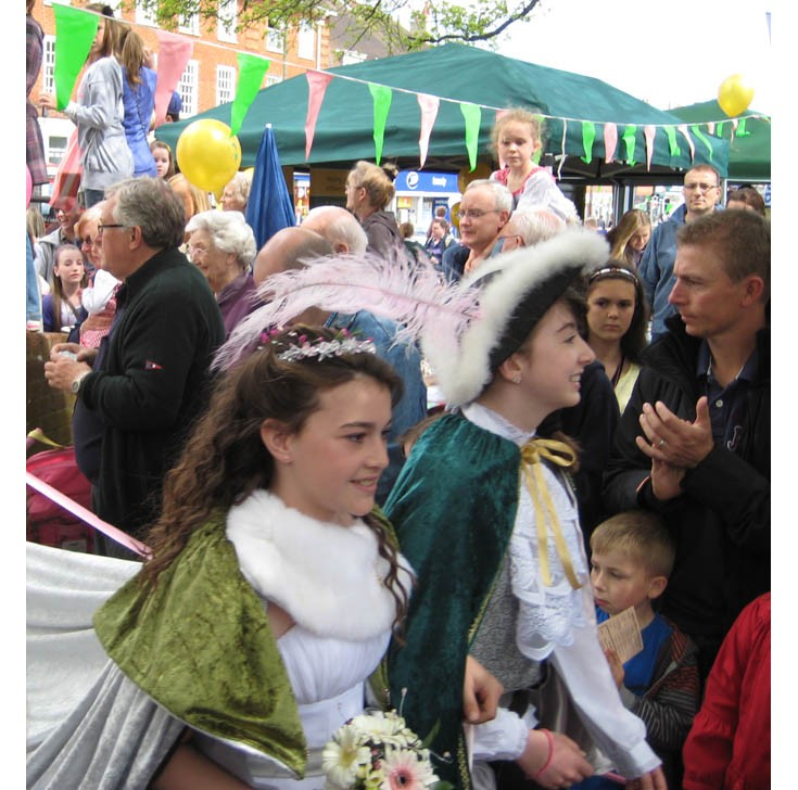 Banstead May Queen and her Prince