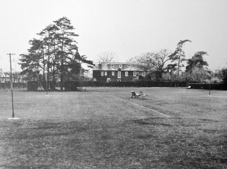 The Lodge Banstead = view from playing fields