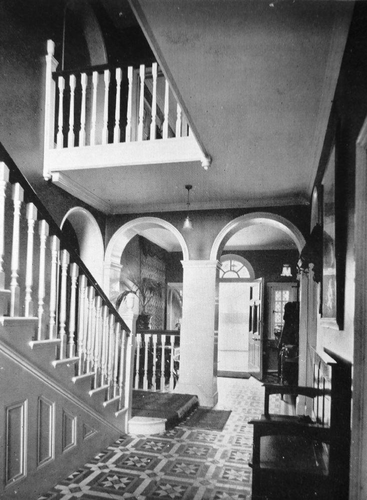 The Lodge Banstead - the Hall
