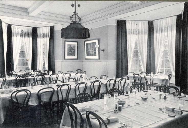 Banstead Hall dining room