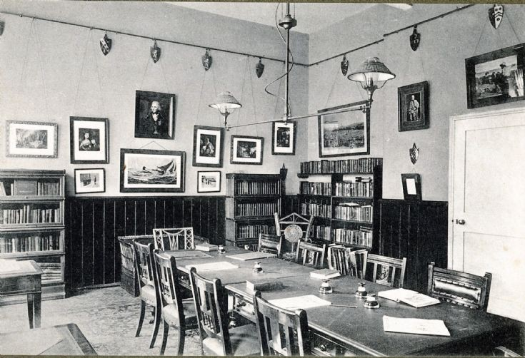 Banstead Hall library