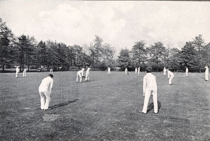 Banstead Hall cricket field