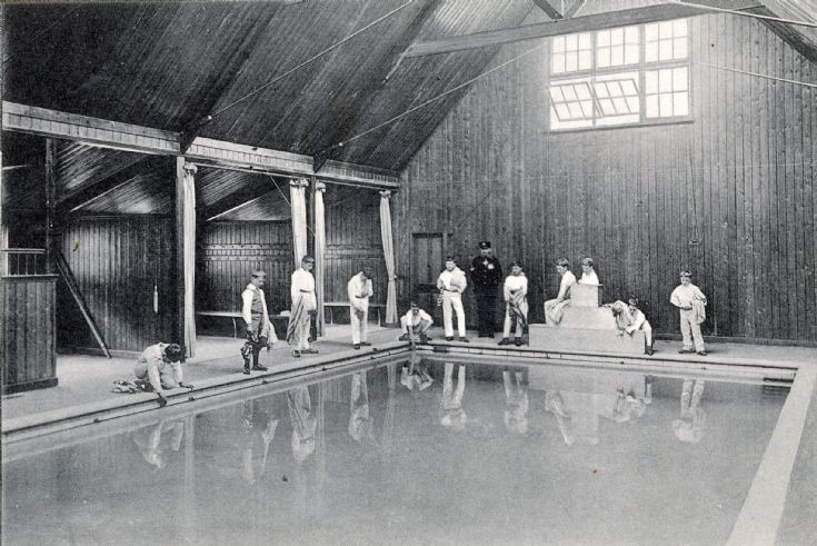 Banstead Hall swimming pool