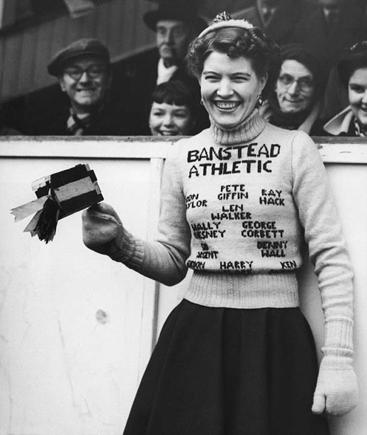 Banstead Athletic hero worshipper but who was she?