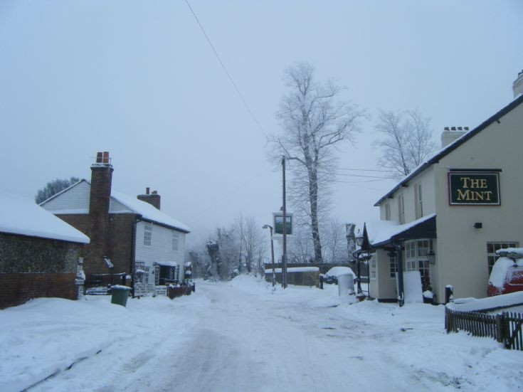 Banstead - The Mint and Park Farm in the snow