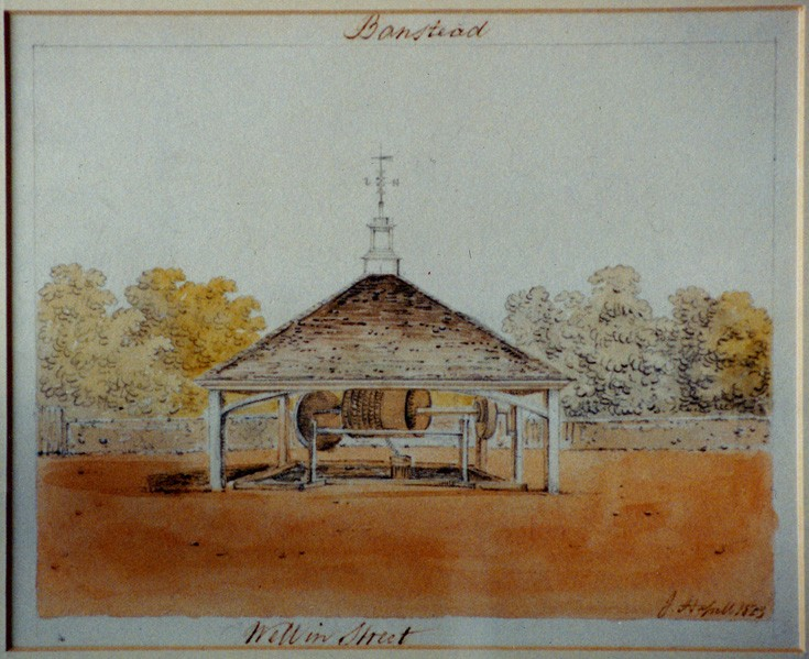 The Banstead Well from a picture dated 1823