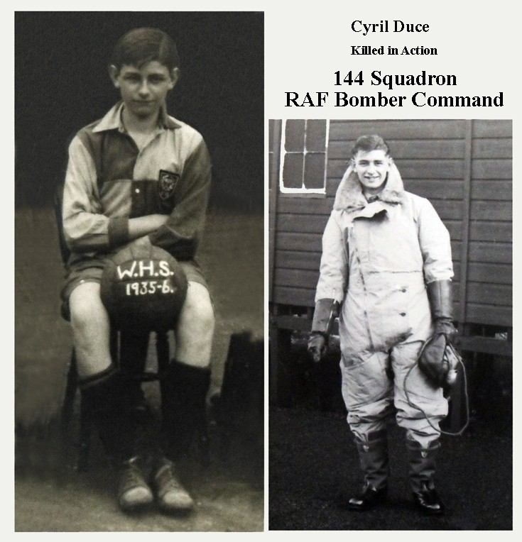 Cyril Duce Banstead Footballer/Air Gunner