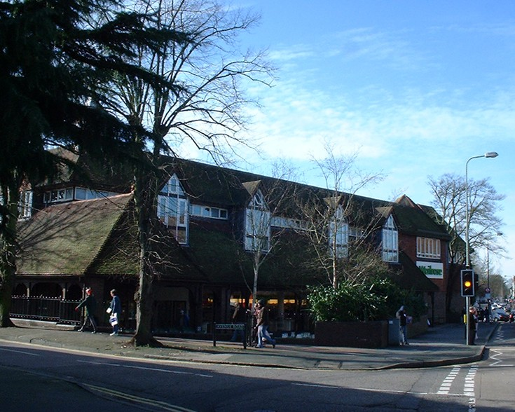 The old Waitrose store on the corner of Avenue Rd.