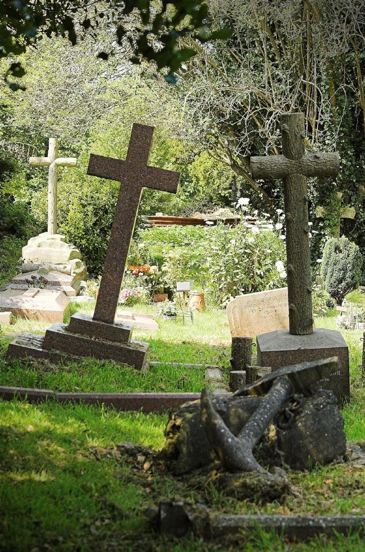 All Saints Church graveyard