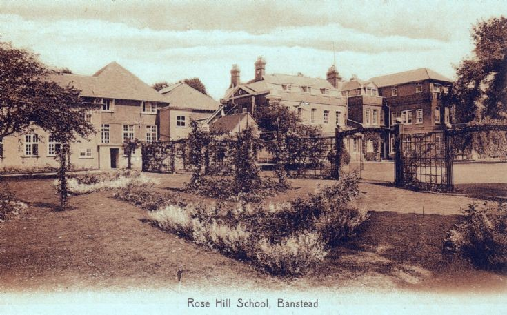 Rose Hill School, The Gardens