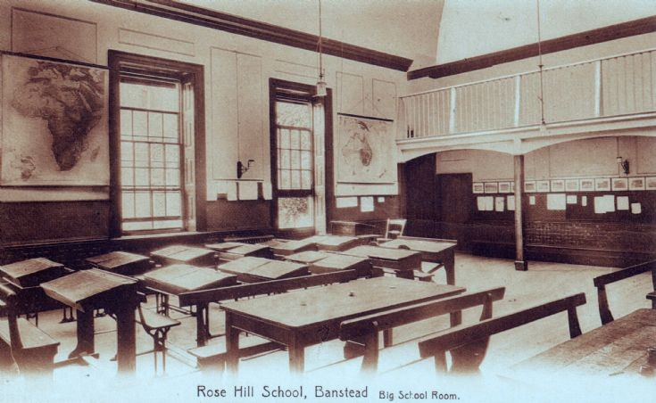 Rose Hill School, Big School Room
