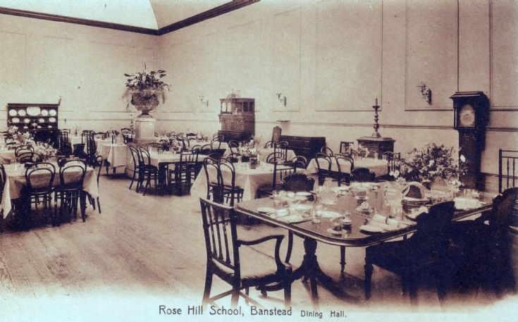 Rose Hill School, Dining Hall
