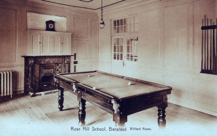 Rose Hill School, Billiard Room