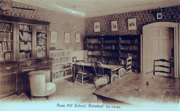 Rose Hill School, The Library