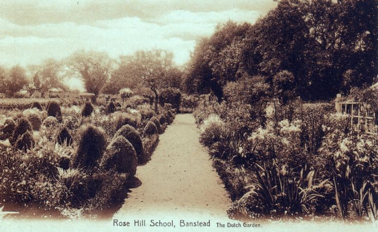 Rose Hill School, The Dutch Garden