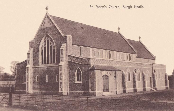 St Mary's Church Burgh Heath