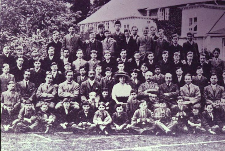 Rose Hill School, Group Photo
