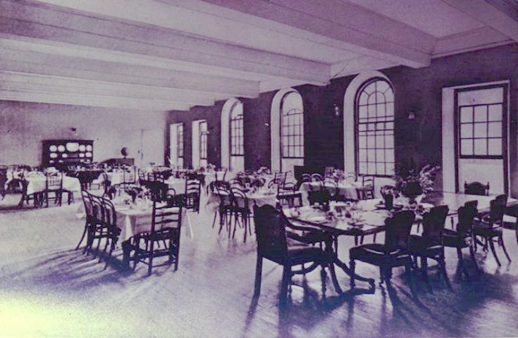 Rose Hill School, Dining room