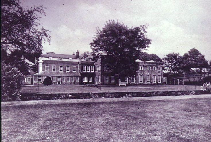 Rose Hill School, Grounds at rear