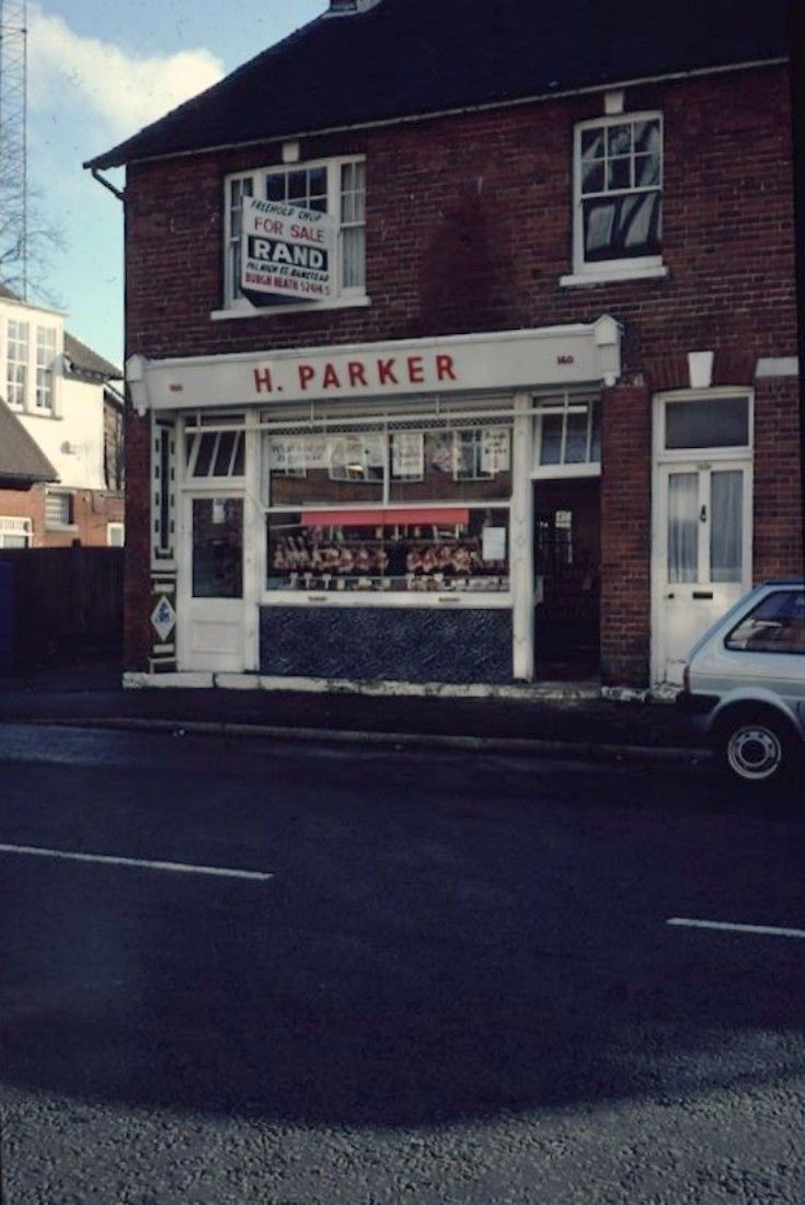 Banstead High street - H Parker butcher