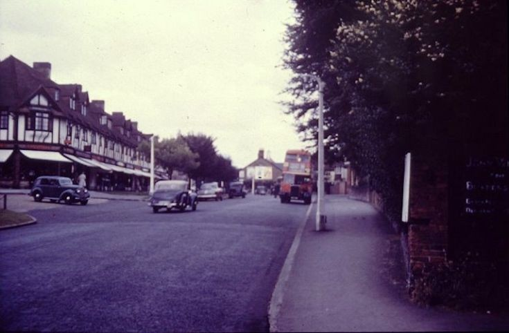 Banstead High Street, in the 1960s.