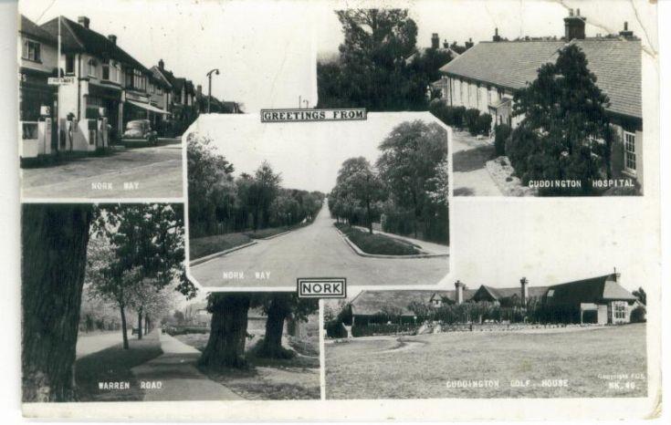 Nork multi postcard