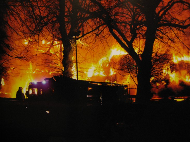 The Great Fire of Banstead 12th December 2008.