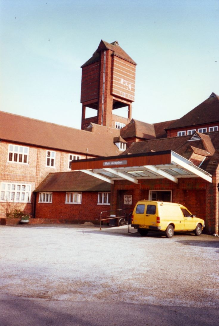 Banstead Woods - Main hospital entrance