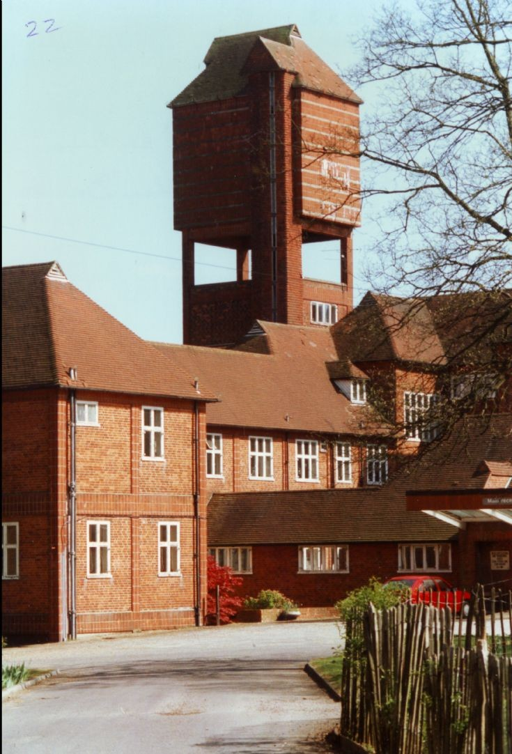 Banstead Woods - The water tower (2)