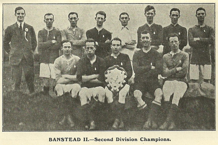 Banstead Division II Champions 1920/1