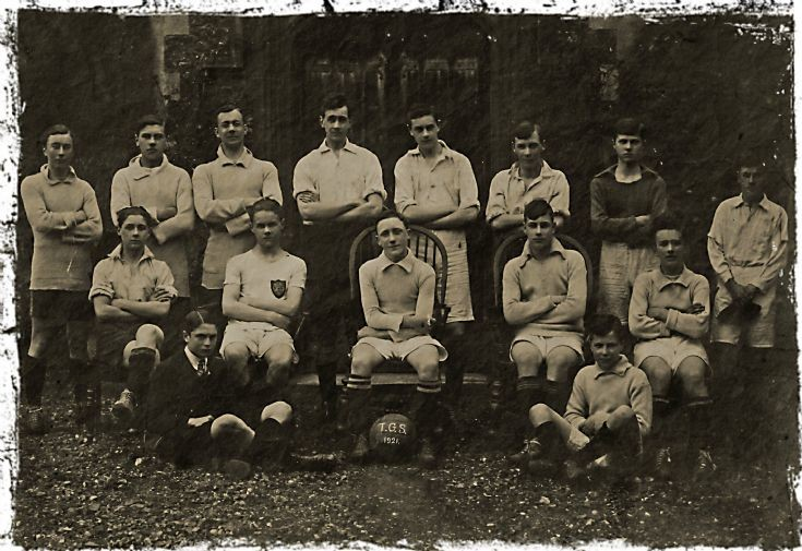 Football team at Banstead Woods