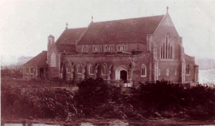 St. Mary's Church - Unfinished, Burgh Heath