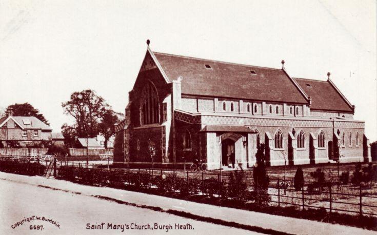 St. Mary's Church, Burgh Heath