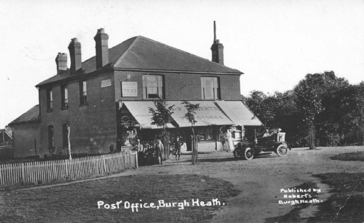 Roberts Stores/Post Office, Burgh Heath