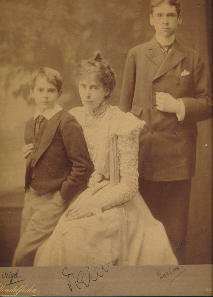 Nigel, Helen, and Gordon Colman