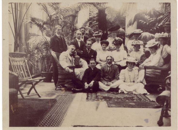 Group photo Colman at Nork House