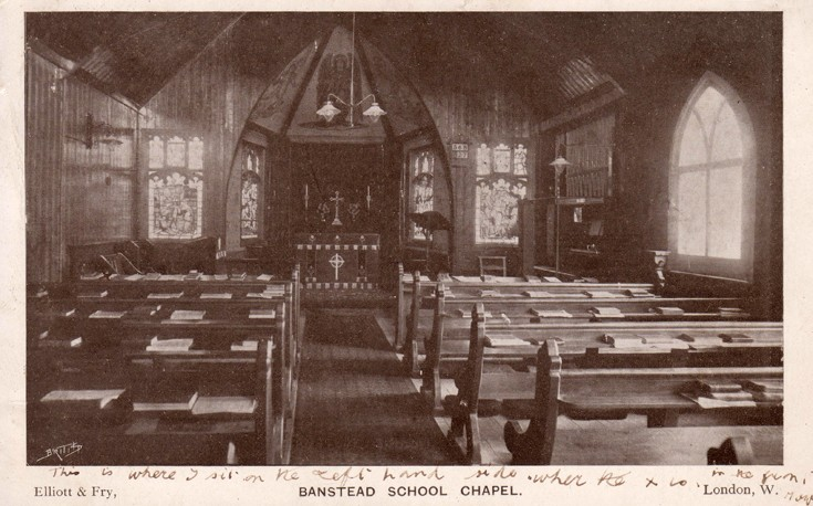 Banstead School Chapel (Banstead Hall?)