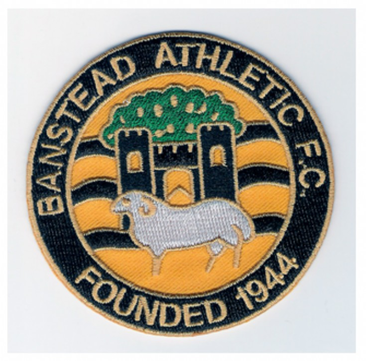 Banstead Athletic FC badge and logo