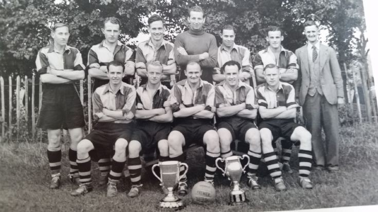 Banstead Athletic Cup winners 1952-53