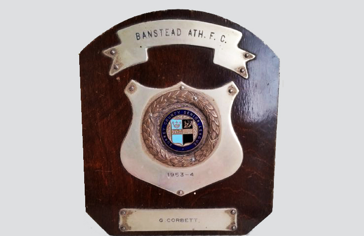 Banstead Athletic FC shield